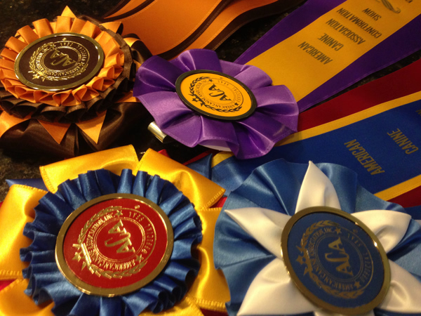 Proud Puppy Love ACA Ribbons